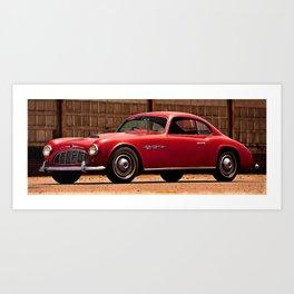 1950 Italian American Italmeccanican IT160 coupe Art Print