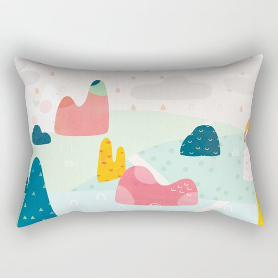 Rocky Road Rectangular Pillow