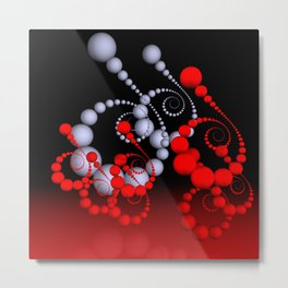 spiral world -2- Metal Print