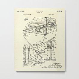 Sailing Rig 03-1967 Metal Print