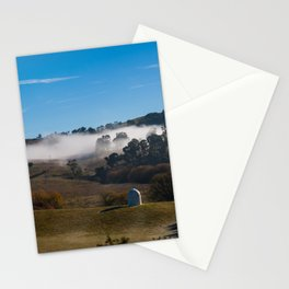 Foggy Valley in Rural Australia. Oberon. NSW. Australia. Stationery Cards