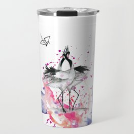 Crane dance Travel Mug