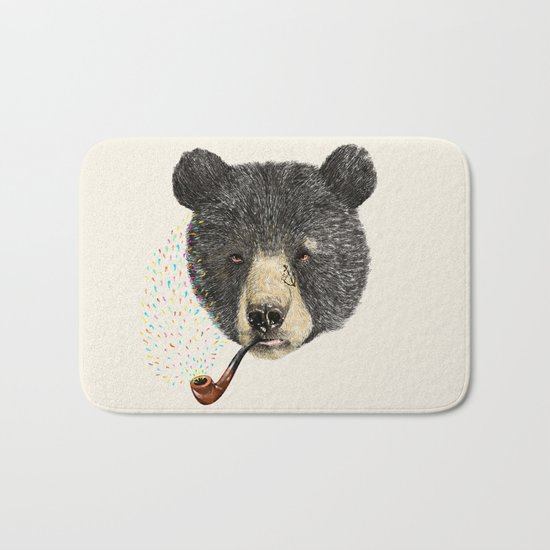 BLACK BEAR SAILOR Bath Mat