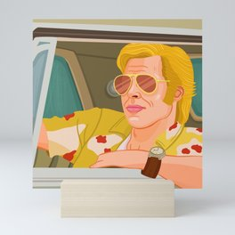 Once Upon A Time in Hollywood Cliff Booth Mini Art Print