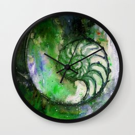 Nature Music No.1B by Kathy Morton Stanion Wall Clock