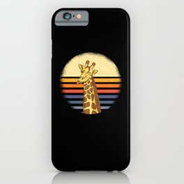 Africa Holiday Giraffe iPhone Case