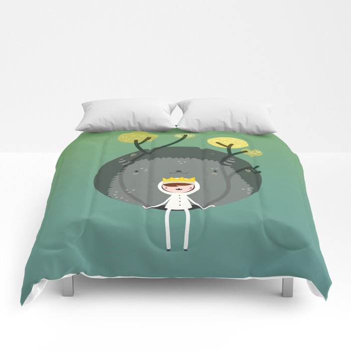 Where are the wild things? Comforters
