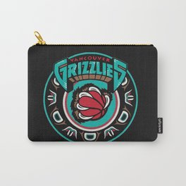 VancouverGrizzlies Logo Carry-All Pouch