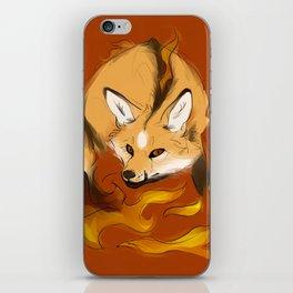 Mythological Fox: Monster of Fire iPhone Skin
