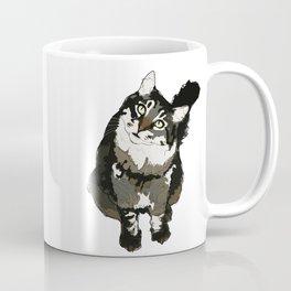Cat Yellow Eyes Coffee Mug