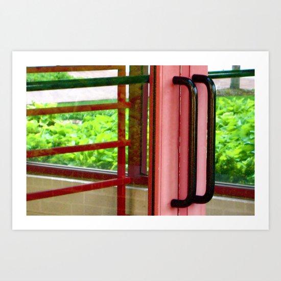 Licorice Door Art Print