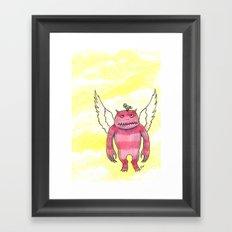 Annoying Bird Framed Art Print