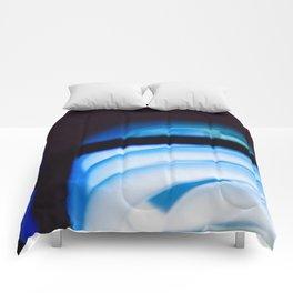 Blue Light District Comforters