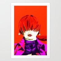 Shermie Art Print