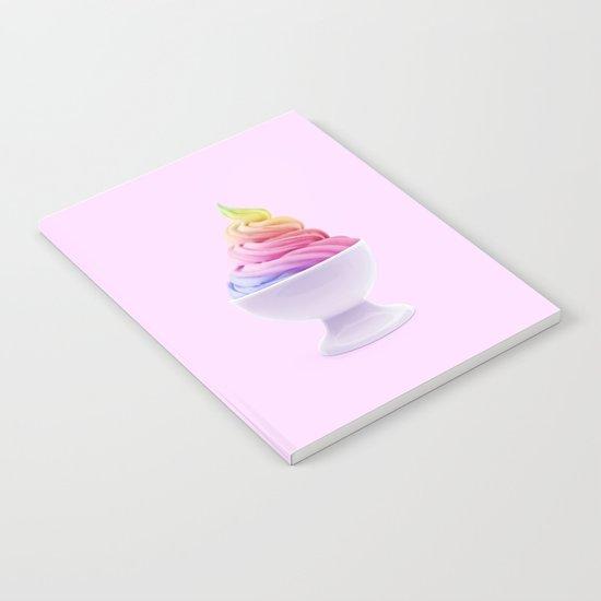 RAINBOW ICE CREAM Notebook