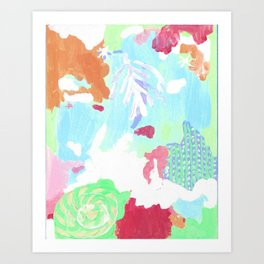 PATCHOULI SEAS Art Print
