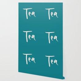 Teal Tea Wallpaper