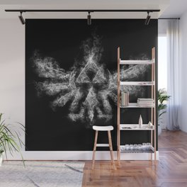 Triforce Smoke Wall Mural