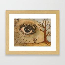 Desolate Soul Framed Art Print