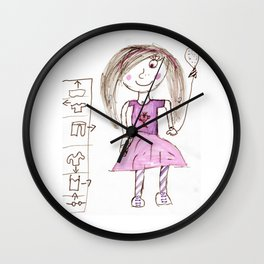 Happy Day Marker Wall Clock