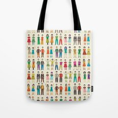 Identical Twins Tote Bag