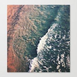 Gradient of the Sea Canvas Print