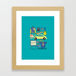 Archie Andrews Riverdale set Framed Art Print