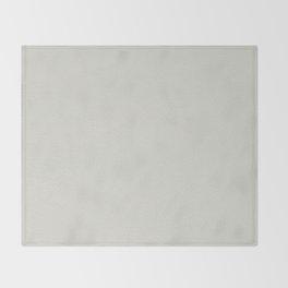 White leather texture Throw Blanket
