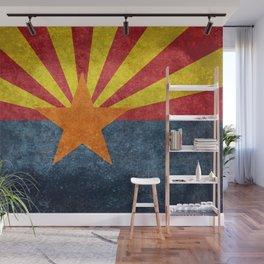 Arizona state flag - vintage retro style Wall Mural