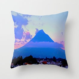 Volcano - Antigua, Guatemala Throw Pillow