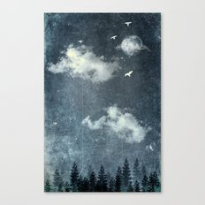 The cloud stealers Canvas Print