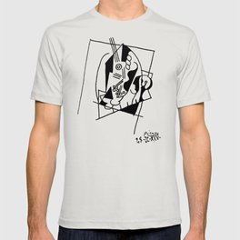 Picasso Guitare et Boîte (Guitar and Box) 1925 Artwork Reproduction T-shirt