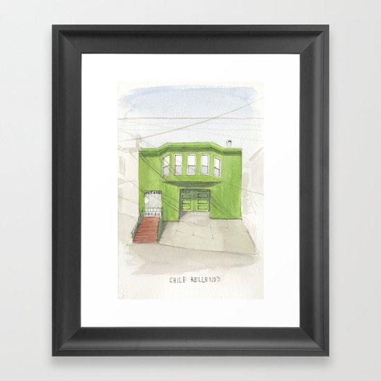 002.  Framed Art Print