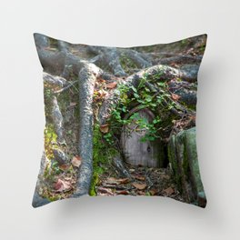 Fairy House III Throw Pillow