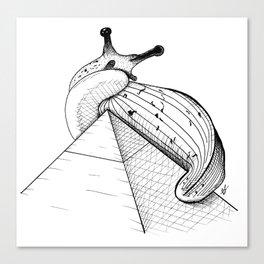 Monster Slug Canvas Print