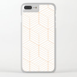 ZADA ((melon)) Clear iPhone Case