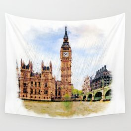 London Calling Wall Tapestry