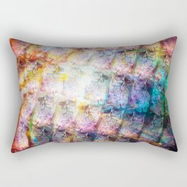 Cosmic Owls Rectangular Pillow