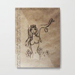 Persephone Metal Print