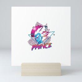 80'S SAIYAN PRINCE Mini Art Print