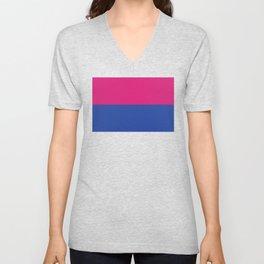 Gender Binary Flag Unisex V-Neck