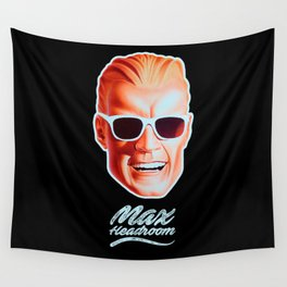 Max Headroom - TV Shows Wall Tapestry