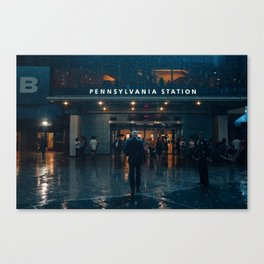 Out From the Rain Canvas Print