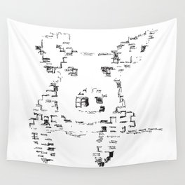 Pig # 00 Wall Tapestry