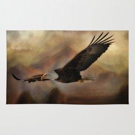 Eagle Flying Free Rug