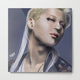 Taemin Metal Print