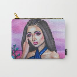 OVERLOOKING THE OCEAN - Watercolor Painting Carry-All Pouch