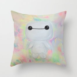 baby baymax Throw Pillow