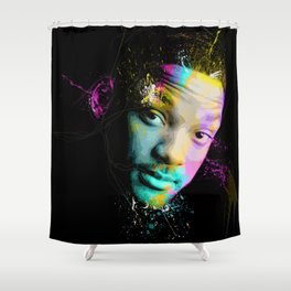 Will Smith Shower Curtain