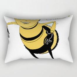 Bee movie ya like jazz Rectangular Pillow